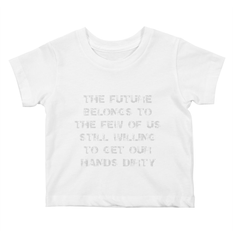 The Future Kids Baby T-Shirt by heavybrush's Artist Shop