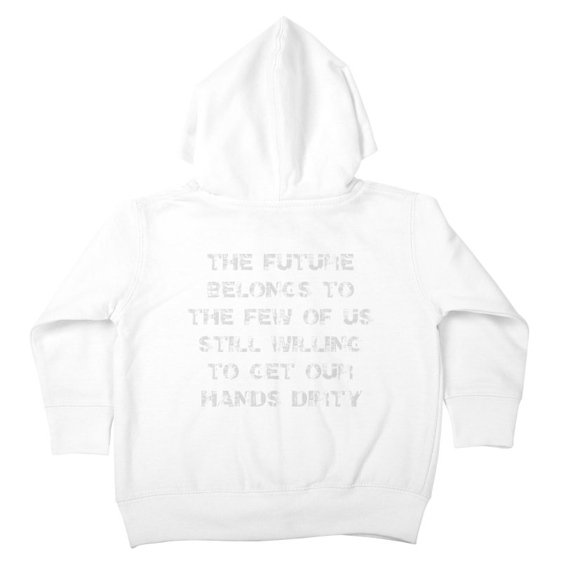 The Future Kids Toddler Zip-Up Hoody by heavybrush's Artist Shop