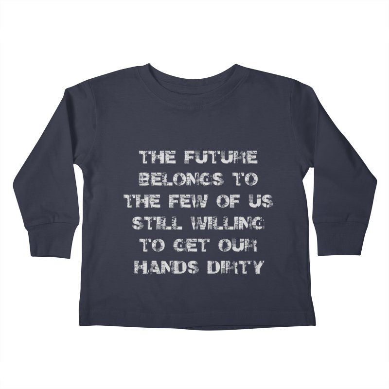 The Future Kids Toddler Longsleeve T-Shirt by heavybrush's Artist Shop