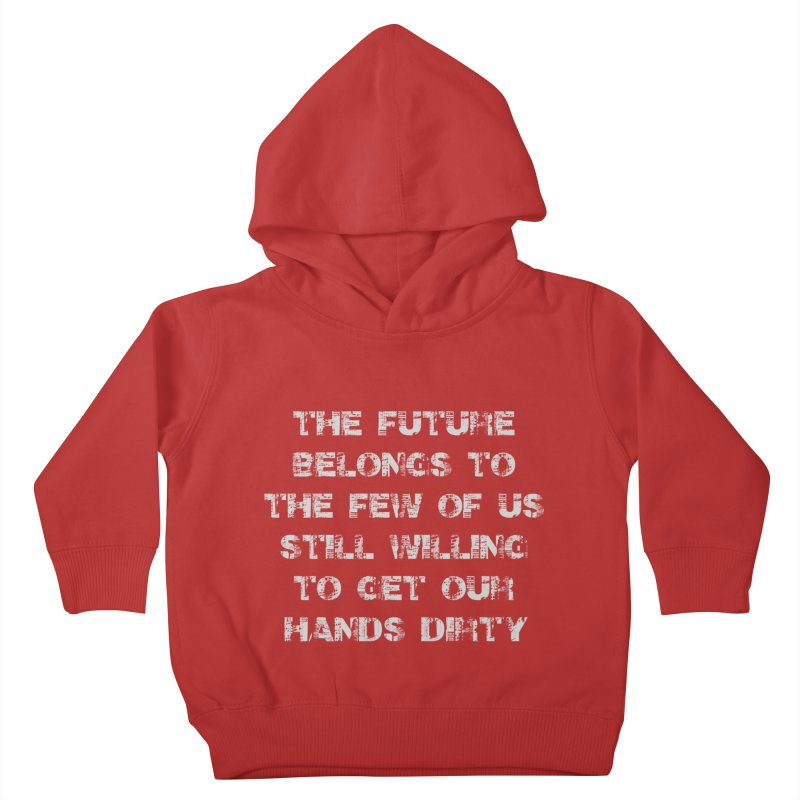 The Future Kids Toddler Pullover Hoody by heavybrush's Artist Shop