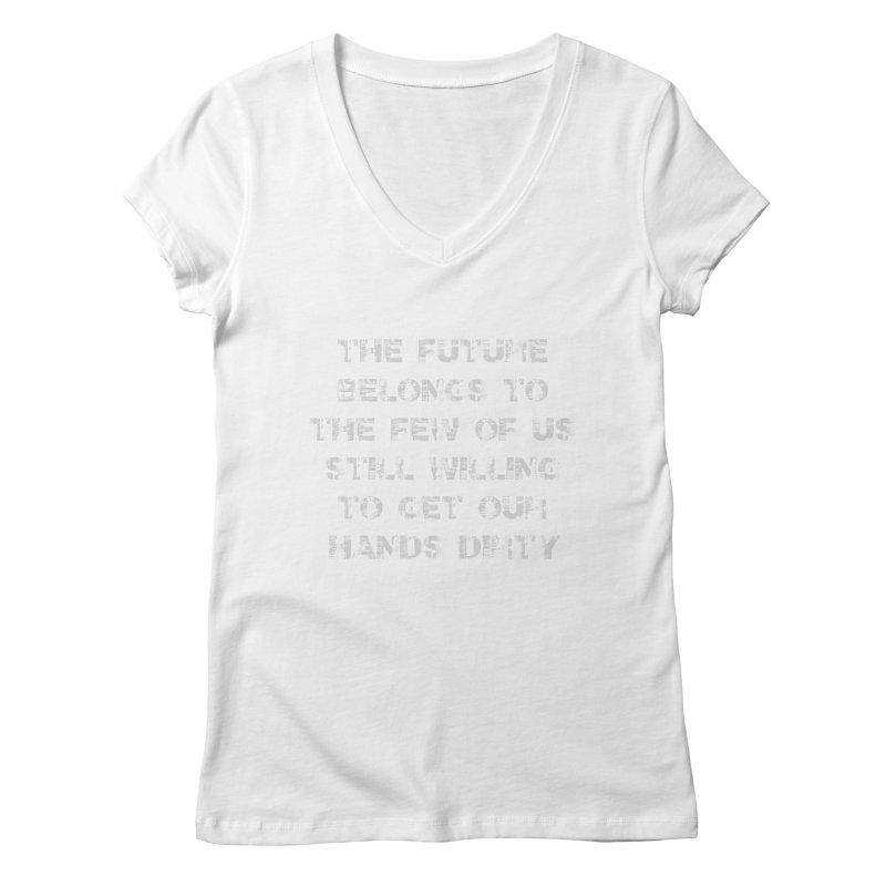 The Future Women's Regular V-Neck by heavybrush's Artist Shop