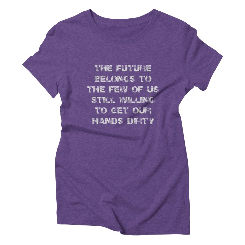 The Future Women's Triblend T-Shirt by heavybrush's Artist Shop