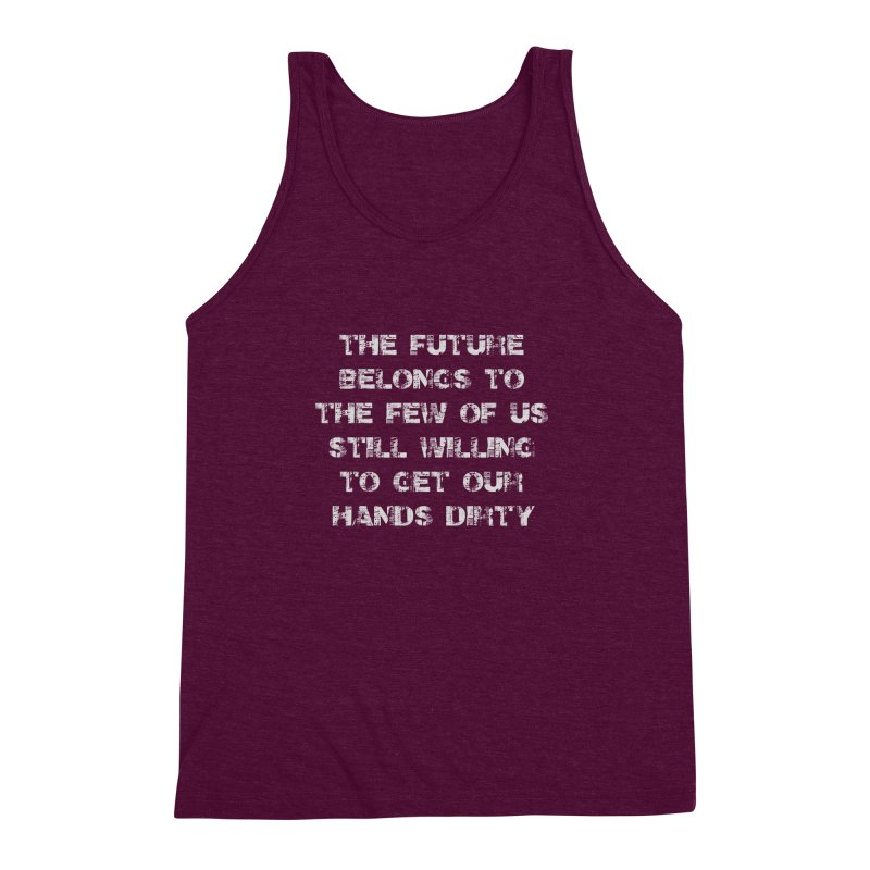 The Future Men's Triblend Tank by heavybrush's Artist Shop