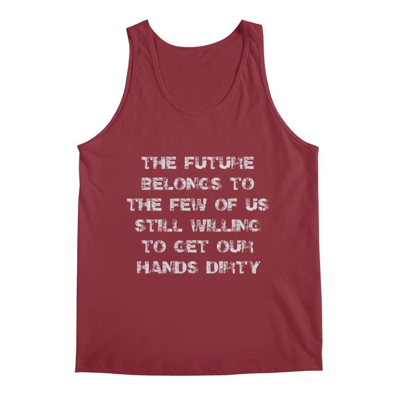 The Future Men's Tank by heavybrush's Artist Shop