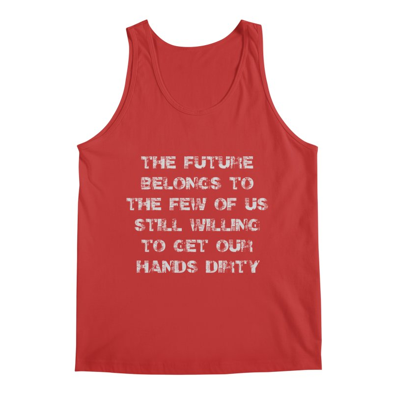 The Future Men's Regular Tank by heavybrush's Artist Shop