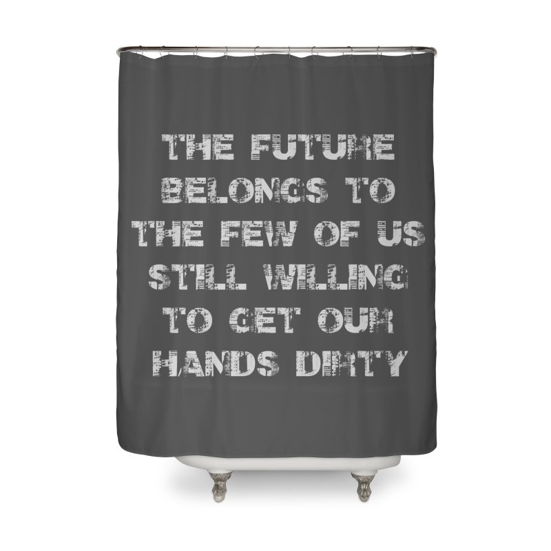 The Future Home Shower Curtain by heavybrush's Artist Shop