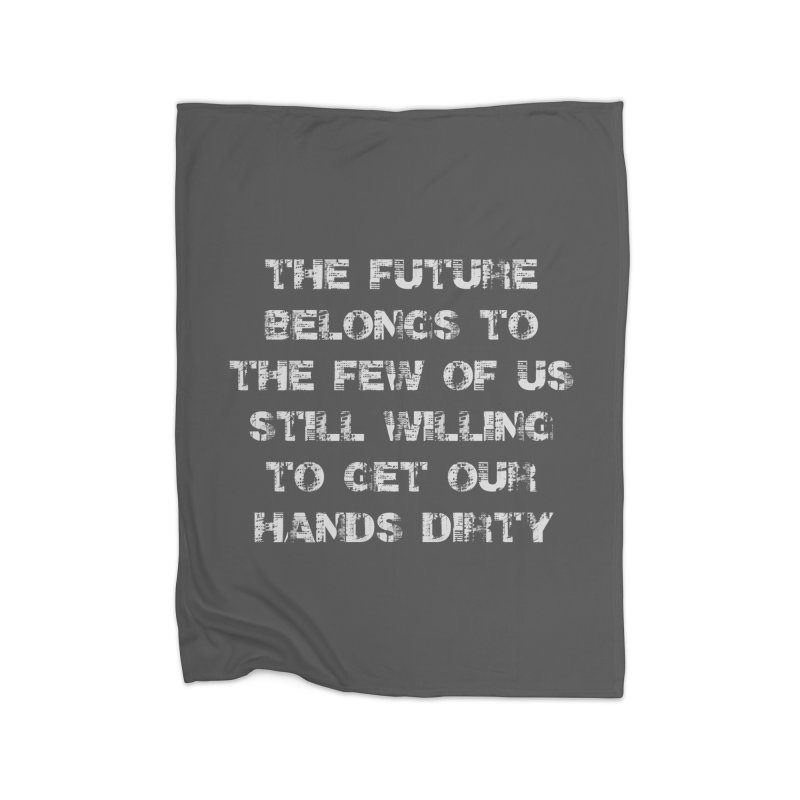 The Future Home Blanket by heavybrush's Artist Shop