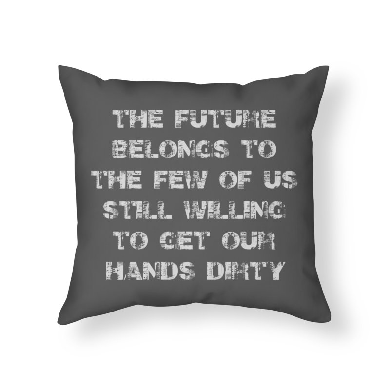 The Future Home Throw Pillow by heavybrush's Artist Shop