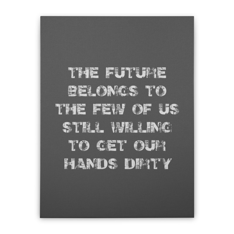 The Future Home Stretched Canvas by heavybrush's Artist Shop