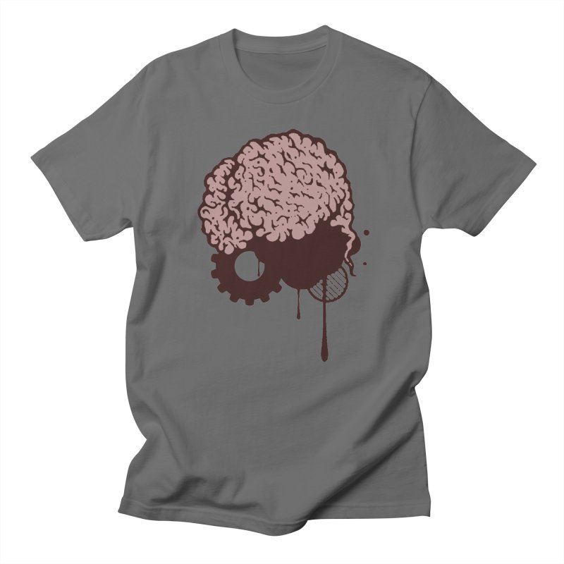 Use your Brain Men's T-Shirt by heavybrush's Artist Shop