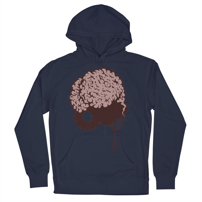 Use your Brain Women's French Terry Pullover Hoody by heavybrush's Artist Shop