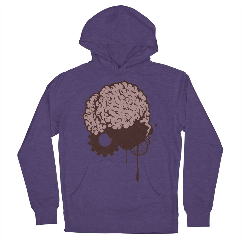 Use your Brain Men's French Terry Pullover Hoody by heavybrush's Artist Shop