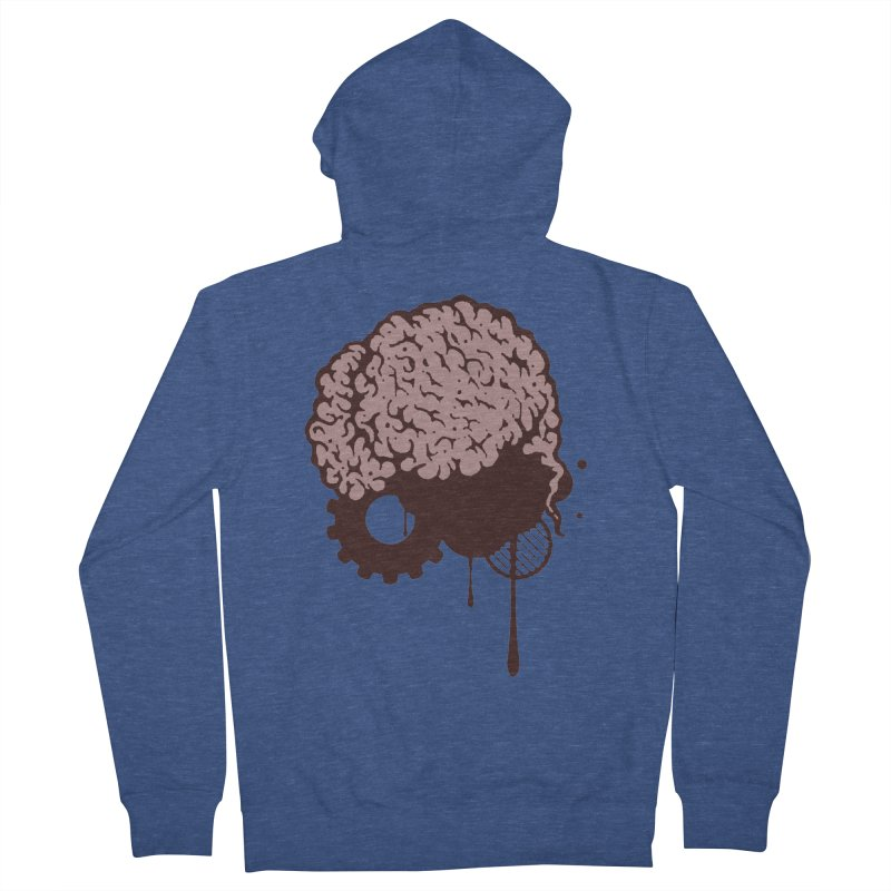 Use your Brain Women's French Terry Zip-Up Hoody by heavybrush's Artist Shop
