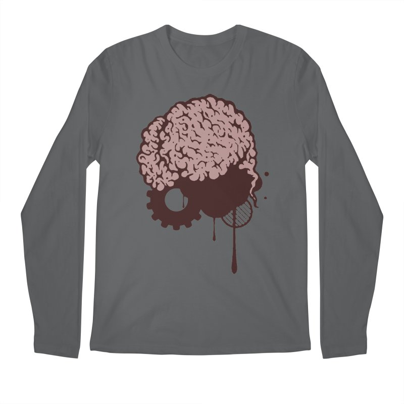 Use your Brain Men's Regular Longsleeve T-Shirt by heavybrush's Artist Shop