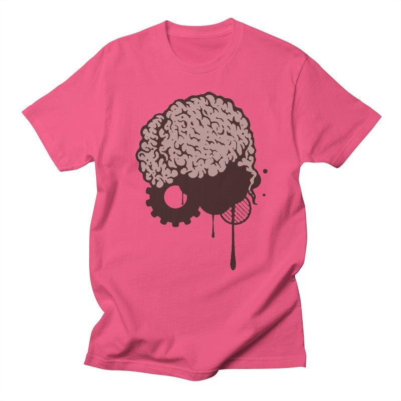 Use your Brain Men's Regular T-Shirt by heavybrush's Artist Shop