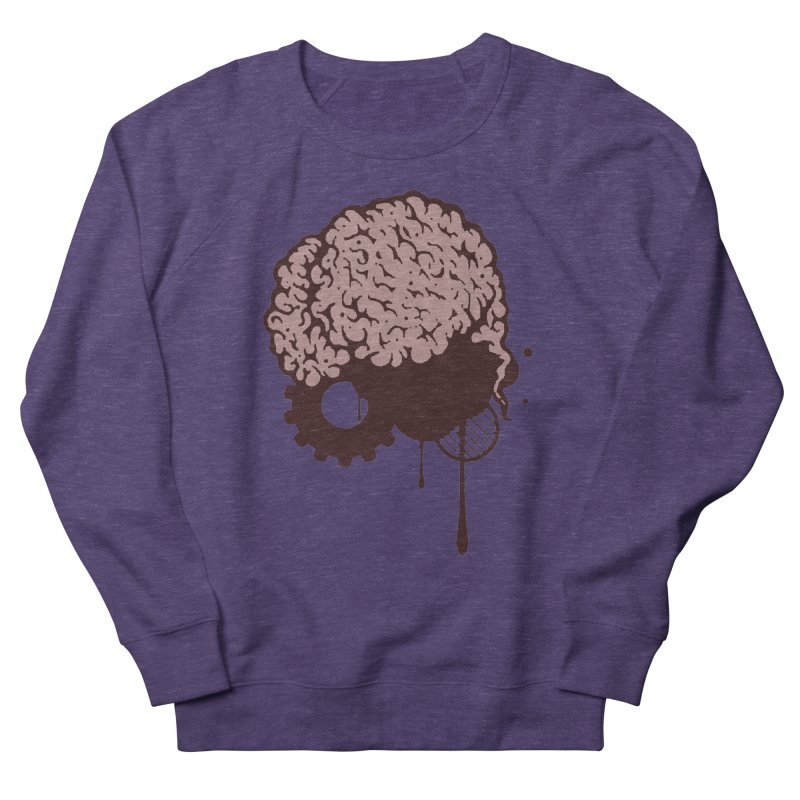 Use your Brain Men's French Terry Sweatshirt by heavybrush's Artist Shop