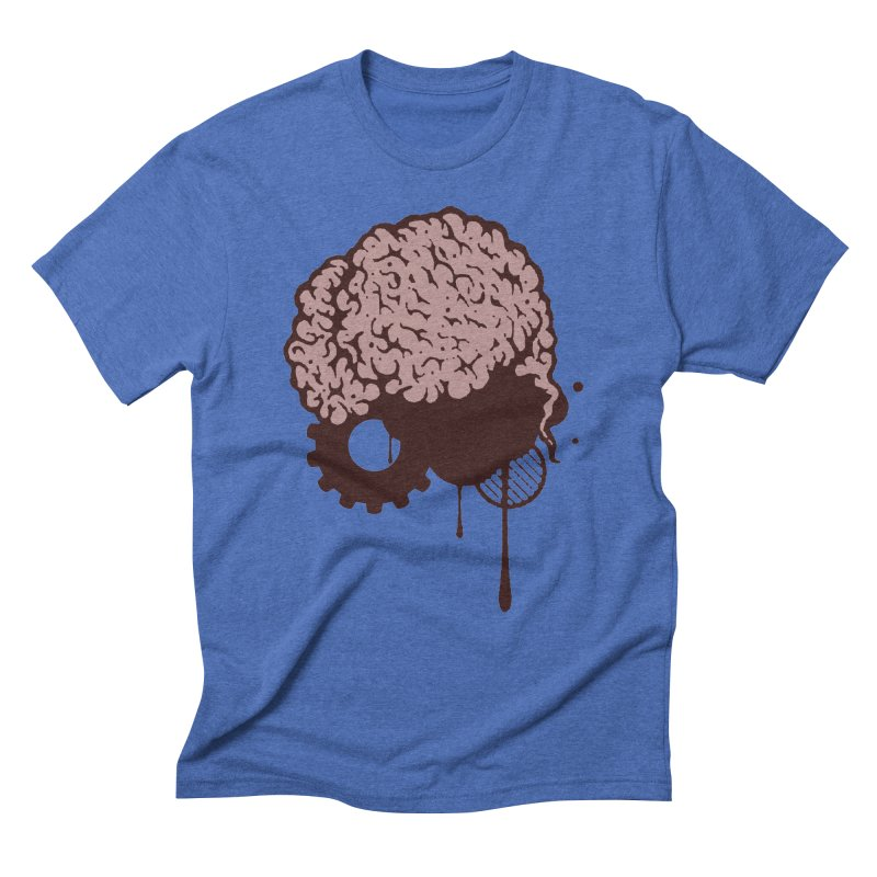 Use your Brain Men's Triblend T-Shirt by heavybrush's Artist Shop