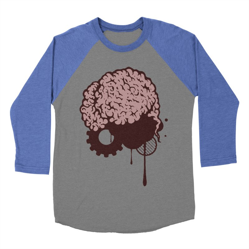 Use your Brain Women's Baseball Triblend Longsleeve T-Shirt by heavybrush's Artist Shop