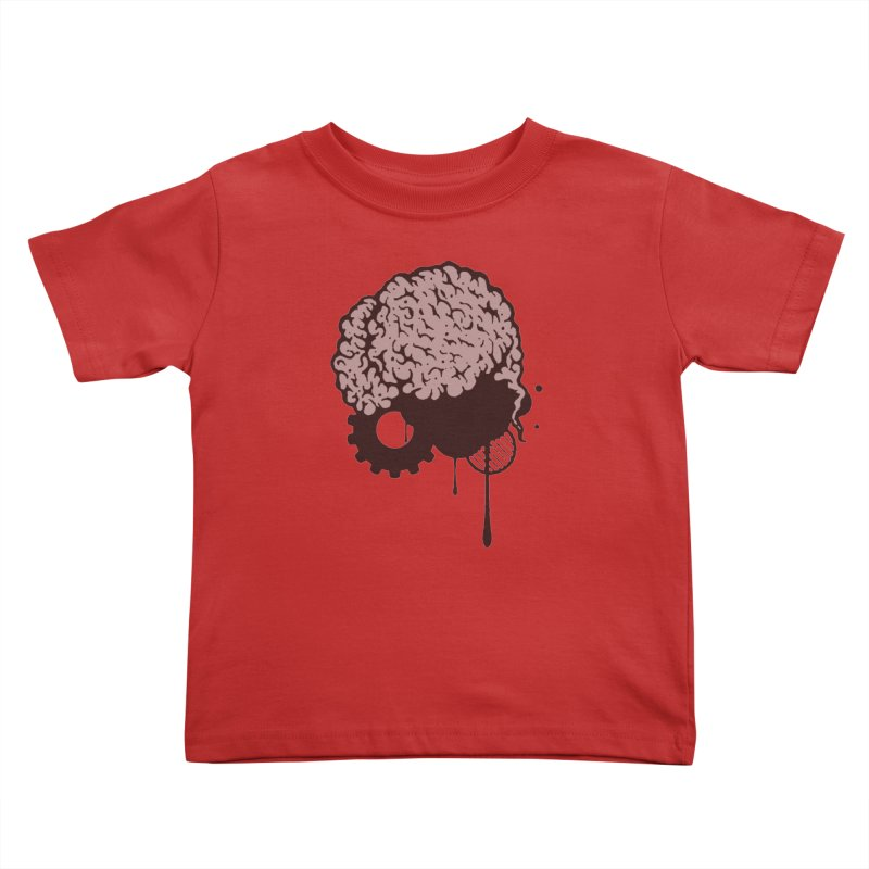 Use your Brain Kids Toddler T-Shirt by heavybrush's Artist Shop