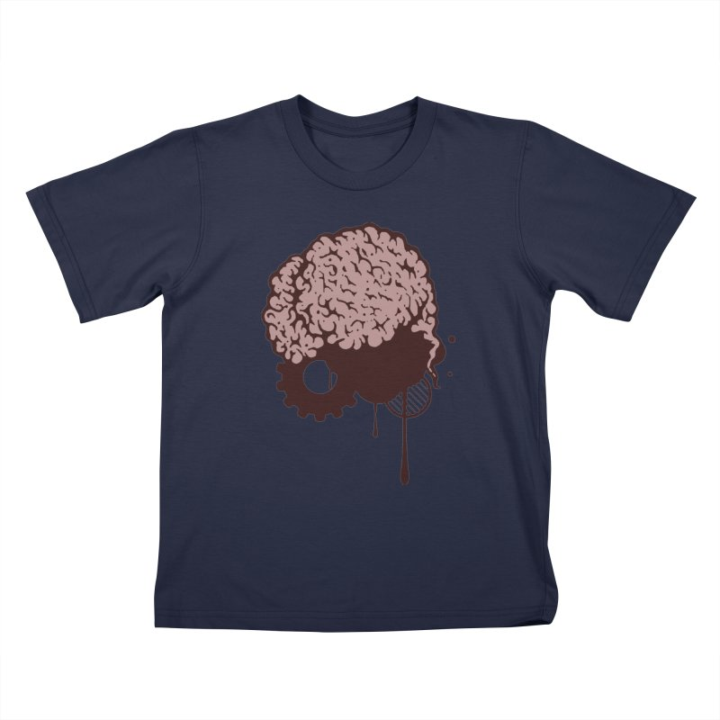 Use your Brain Kids T-Shirt by heavybrush's Artist Shop