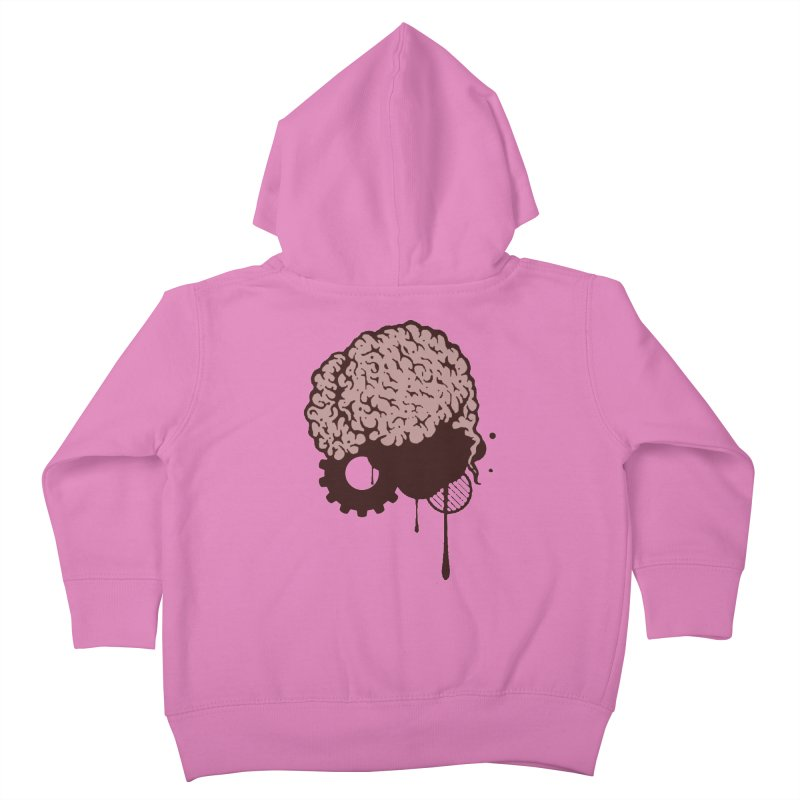 Use your Brain Kids Toddler Zip-Up Hoody by heavybrush's Artist Shop