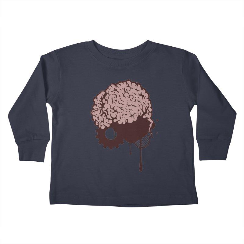 Use your Brain Kids Toddler Longsleeve T-Shirt by heavybrush's Artist Shop