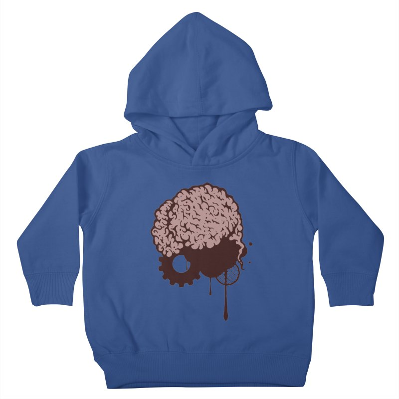 Use your Brain Kids Toddler Pullover Hoody by heavybrush's Artist Shop