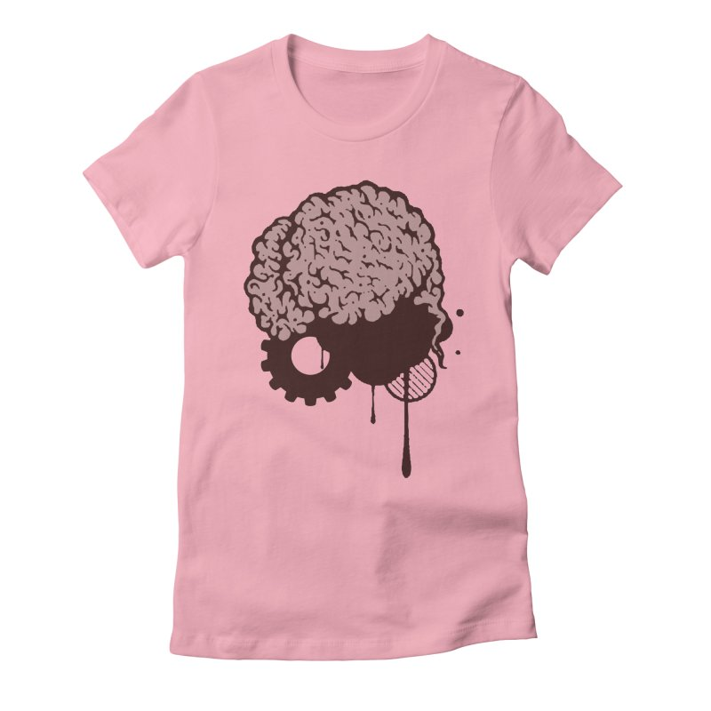 Use your Brain Women's Fitted T-Shirt by heavybrush's Artist Shop