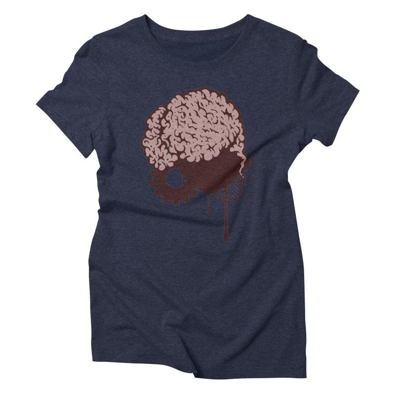 Use your Brain Women's Triblend T-Shirt by heavybrush's Artist Shop