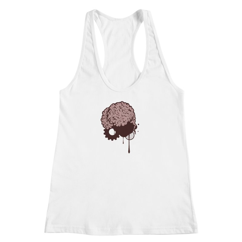 Use your Brain Women's Racerback Tank by heavybrush's Artist Shop