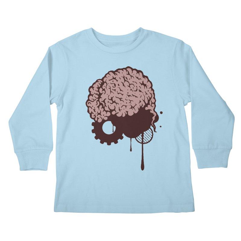 Use your Brain Kids Longsleeve T-Shirt by heavybrush's Artist Shop