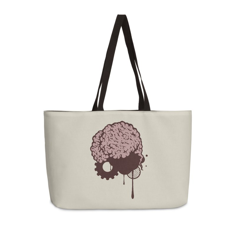 Use your Brain Accessories Weekender Bag Bag by heavybrush's Artist Shop