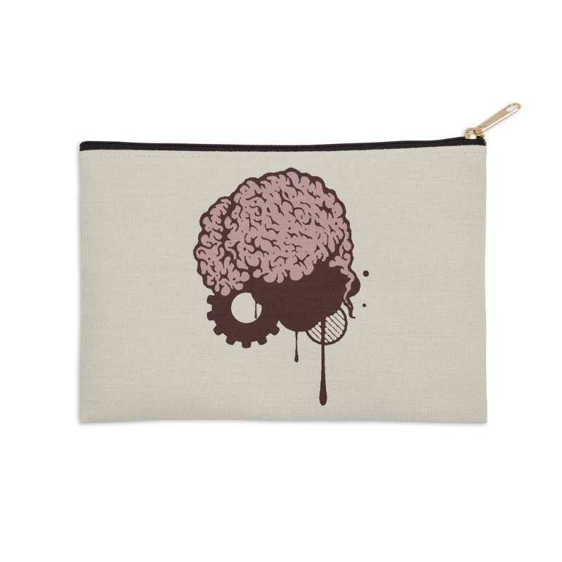 Use your Brain Accessories Zip Pouch by heavybrush's Artist Shop