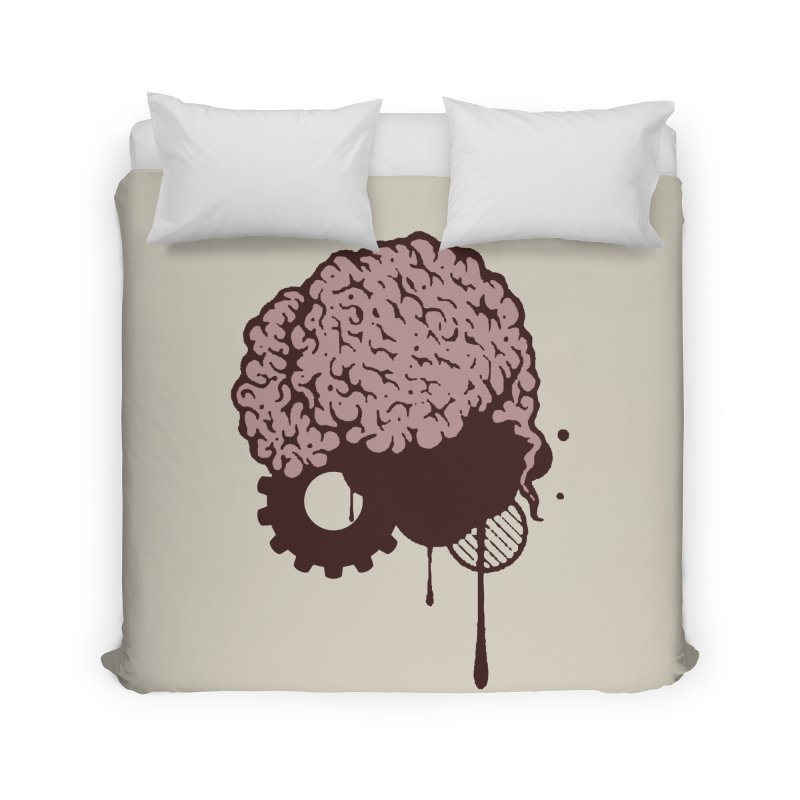 Use your Brain Home Duvet by heavybrush's Artist Shop