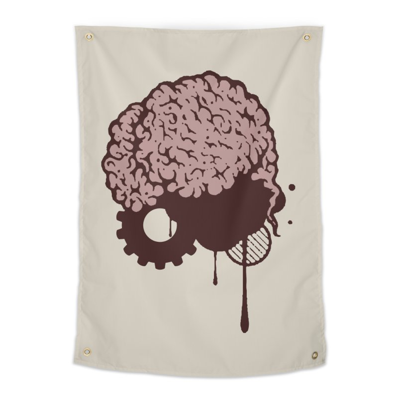Use your Brain Home Tapestry by heavybrush's Artist Shop
