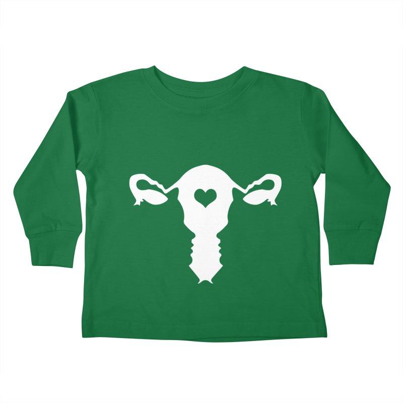 Vagina Kids Toddler Longsleeve T-Shirt by heavybrush's Artist Shop