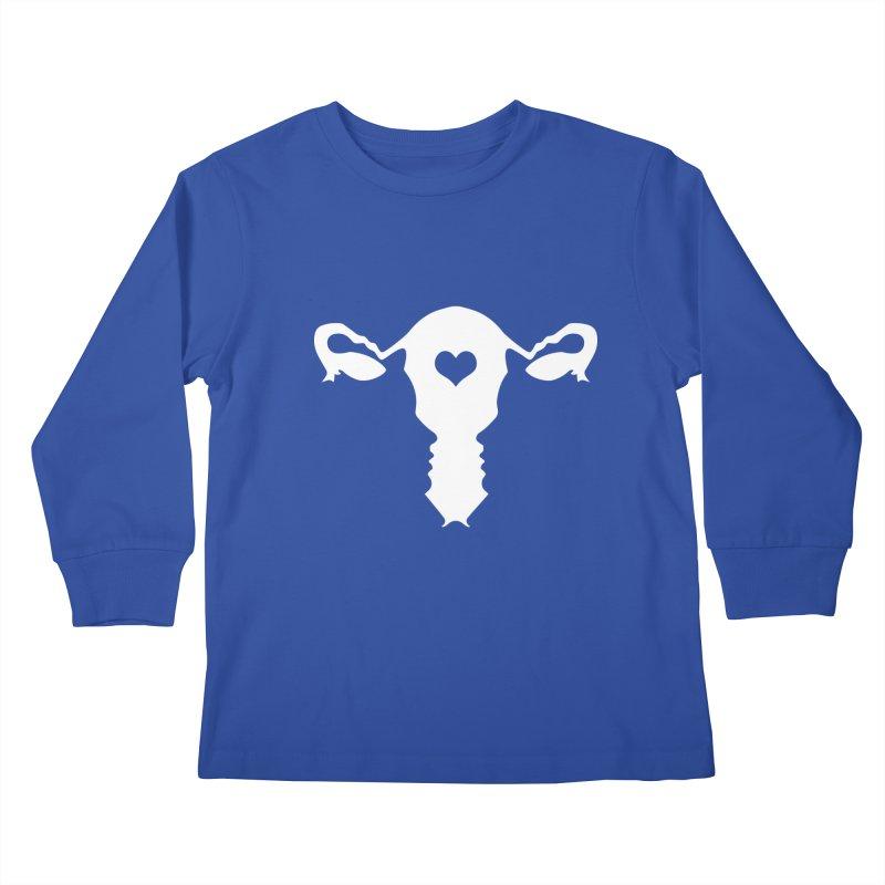 Vagina Kids Longsleeve T-Shirt by heavybrush's Artist Shop
