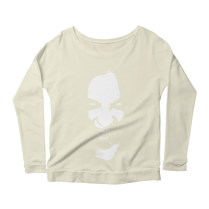 Vampire Women's Scoop Neck Longsleeve T-Shirt by heavybrush's Artist Shop