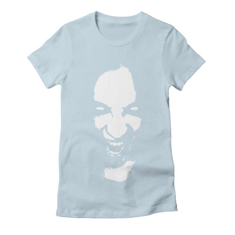 Vampire Women's Fitted T-Shirt by heavybrush's Artist Shop