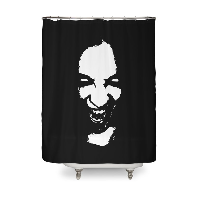 Vampire Home Shower Curtain by heavybrush's Artist Shop