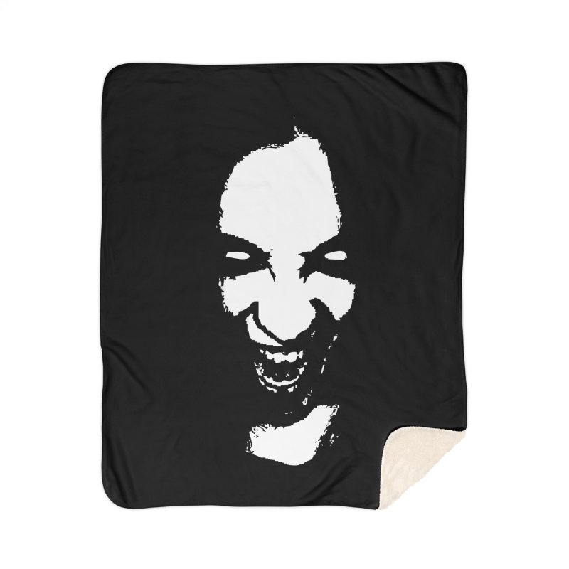 Vampire Home Sherpa Blanket Blanket by heavybrush's Artist Shop