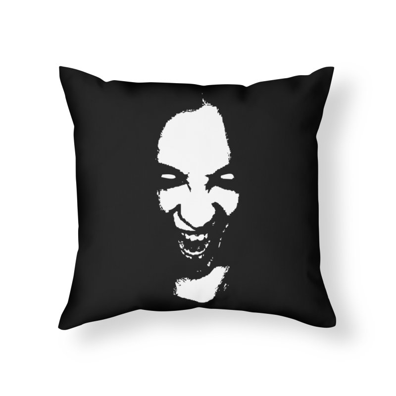 Vampire Home Throw Pillow by heavybrush's Artist Shop
