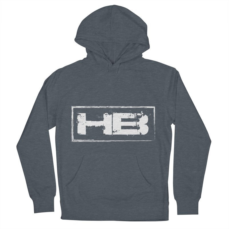 HB logo Women's French Terry Pullover Hoody by heavybrush's Artist Shop