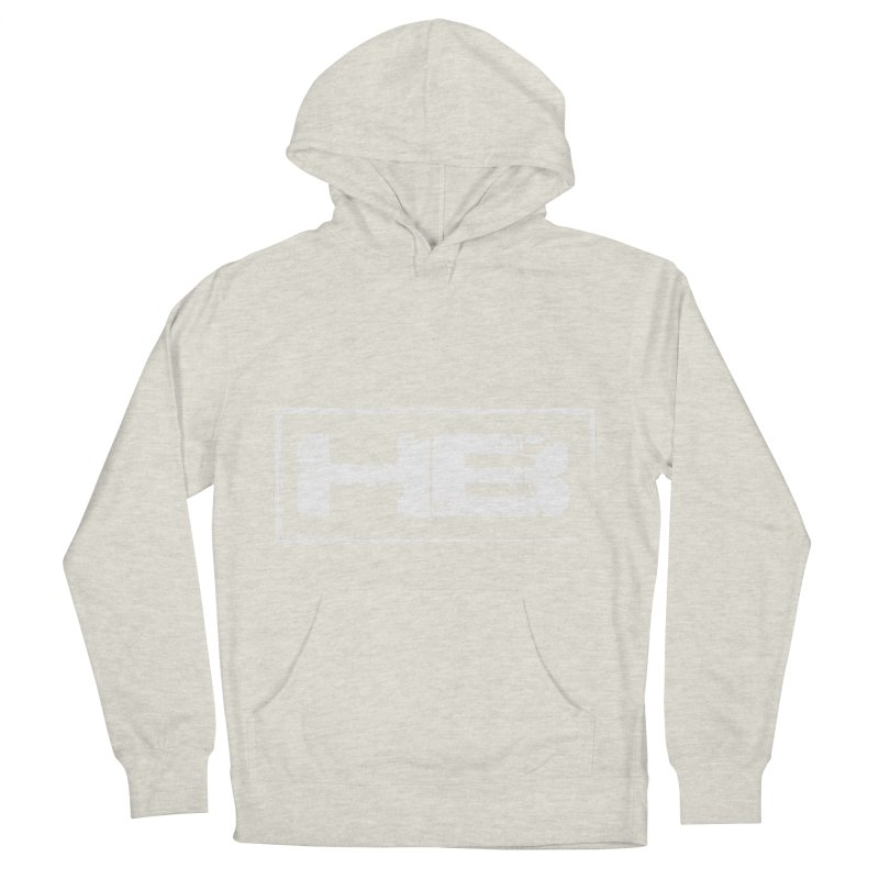 HB logo Men's French Terry Pullover Hoody by heavybrush's Artist Shop
