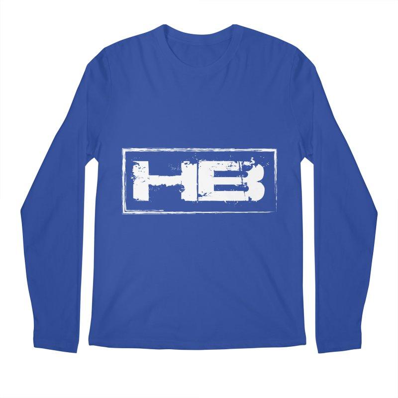 HB logo Men's Regular Longsleeve T-Shirt by heavybrush's Artist Shop