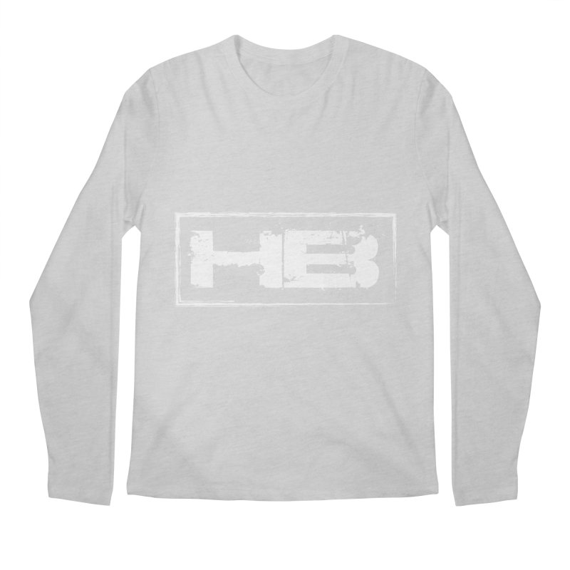 HB logo Men's Regular Longsleeve T-Shirt by heavybrush's Artist Shop