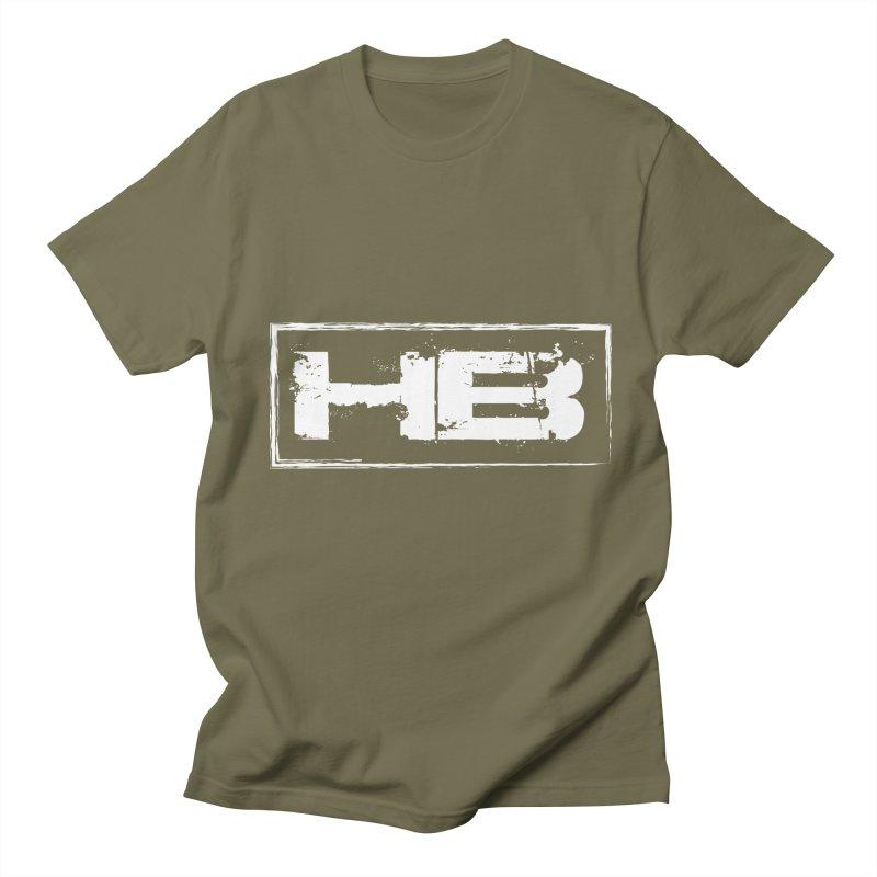 HB logo Men's Regular T-Shirt by heavybrush's Artist Shop