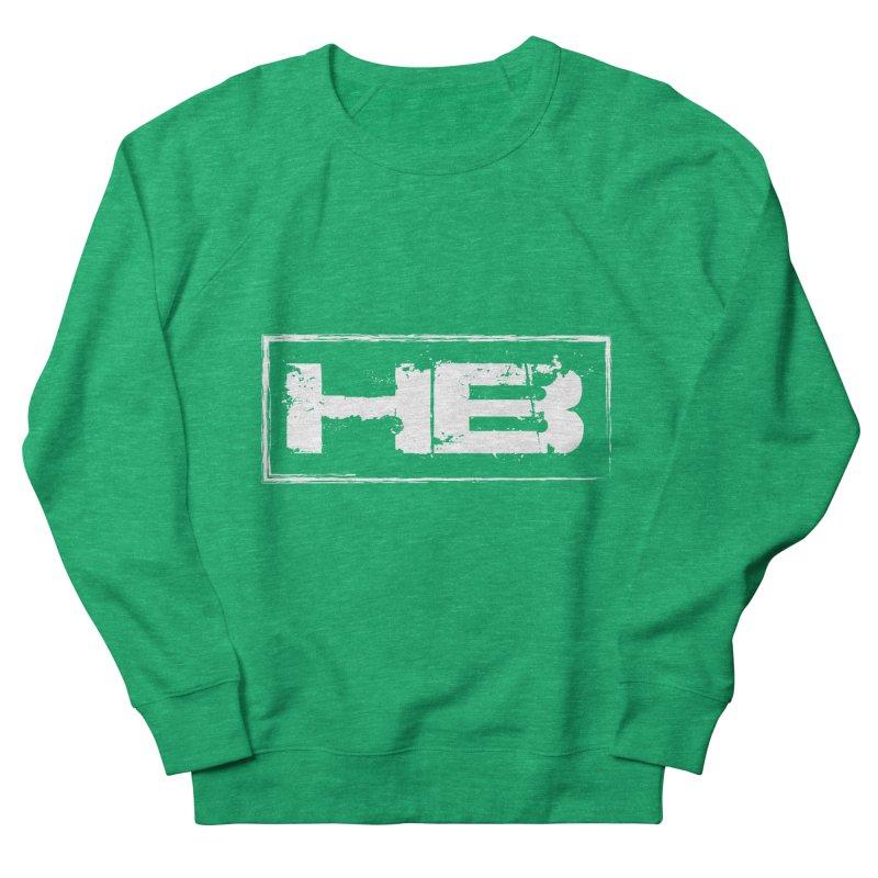 HB logo Women's French Terry Sweatshirt by heavybrush's Artist Shop