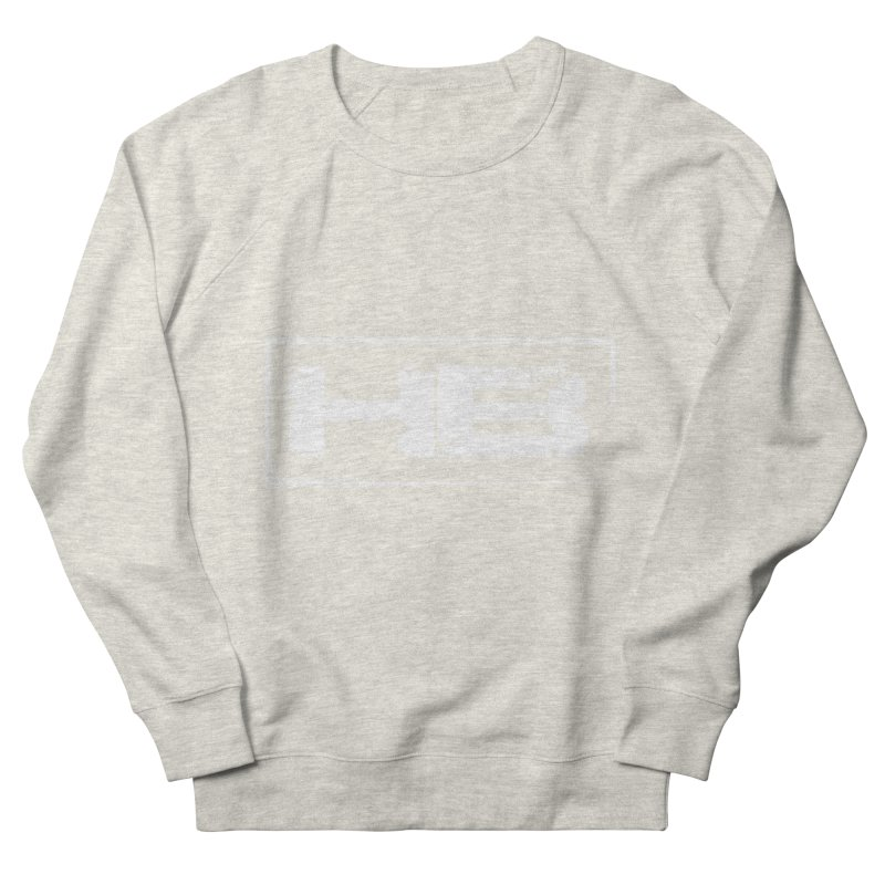 HB logo Women's French Terry Sweatshirt by heavybrush's Artist Shop