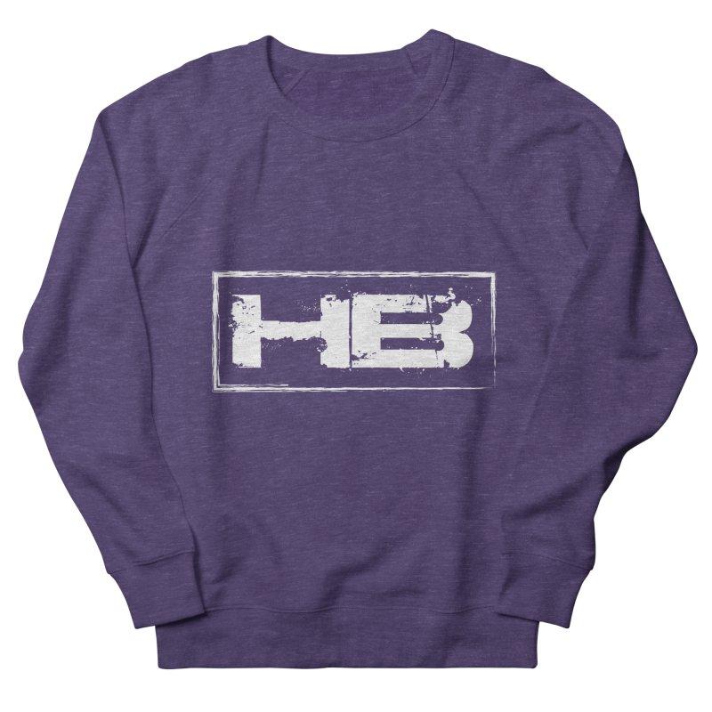 HB logo Men's French Terry Sweatshirt by heavybrush's Artist Shop